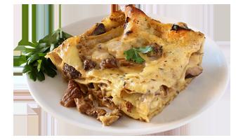 Piatto Lasagna ai Funghi Fuori Frigo