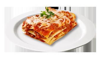 Piatto Lasagna Bolognese Fuori Frigo