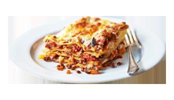 pasta ready to eat vegetarian lasagna