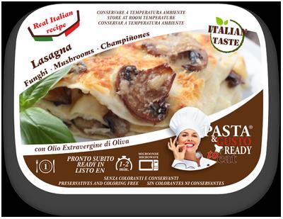 Piatti Pronti Lasagna ai Funghi