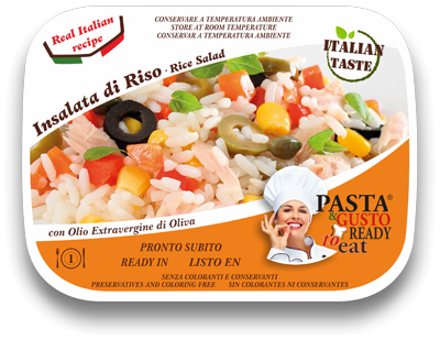 ready meals rice salad