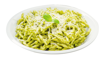 pasta ready to eat trofie al pesto