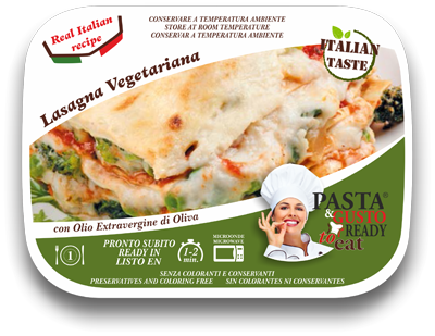 ready meals vegetarian lasagna